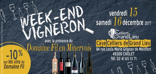 weekend vignerons Cho